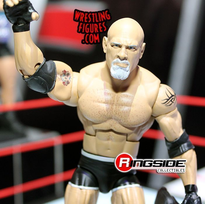 Goldberg Figure With Wrestlering Ring