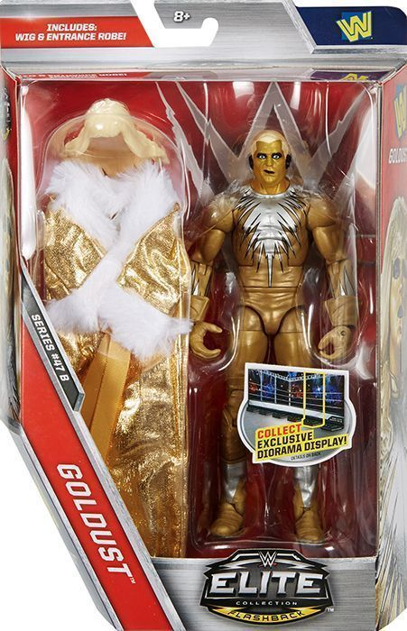 How To Figure Out Sales Tax >> WWE Elite 47.5 - Goldust Mattel Toy Wrestling Action ...