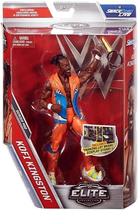 Wwe Girl Toys : Kofi kingston wwe elite mattel toy wrestling action