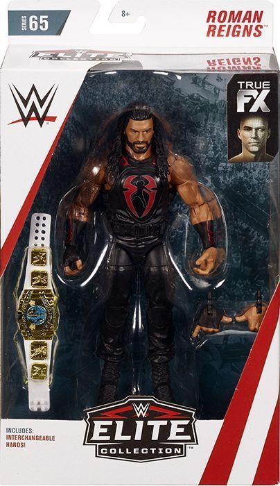 How To Figure Out Sales Tax >> Roman Reigns - WWE Elite 65 Mattel Toy Wrestling Action Figure 887961730166 | eBay