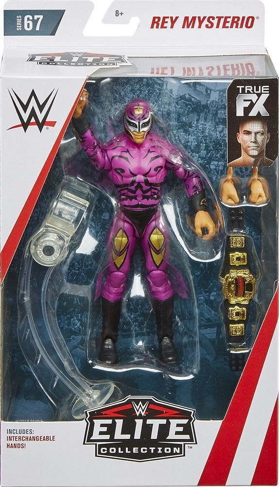 Rey Mysterio - WWE Elite 67 Mattel Toy Wrestling Action ...