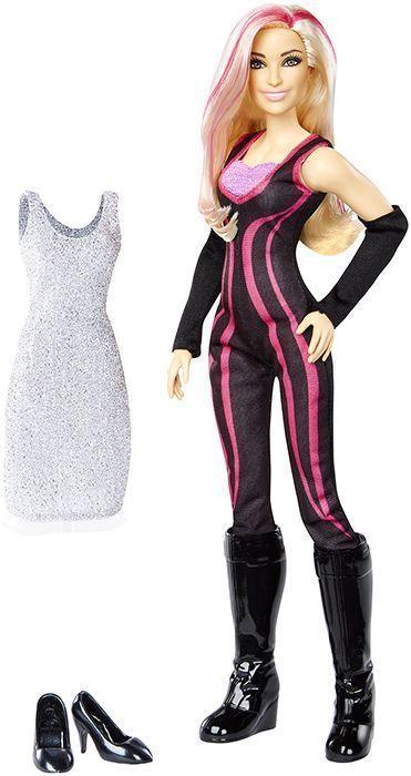 Wwe Girl Toys : Natalya wwe girls fashion dolls w accessories mattel
