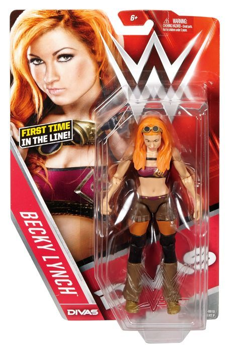 Becky Lynch Wwe Series 62 Mattel Toy Wrestling Action