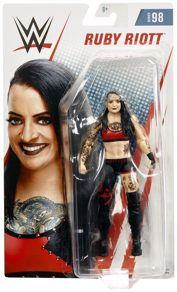 ULTIMATE WARRIOR WWE Mattel Basic Core Series 98 Wrestling Action Figure DMG PKG