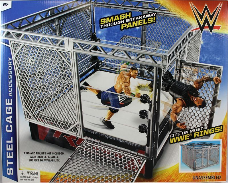 Wrestling Cage Toys 63