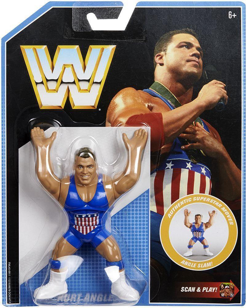 Kurt Angle-Rétro WWE série 7 Mattel Jouet Wrestling Action Figure
