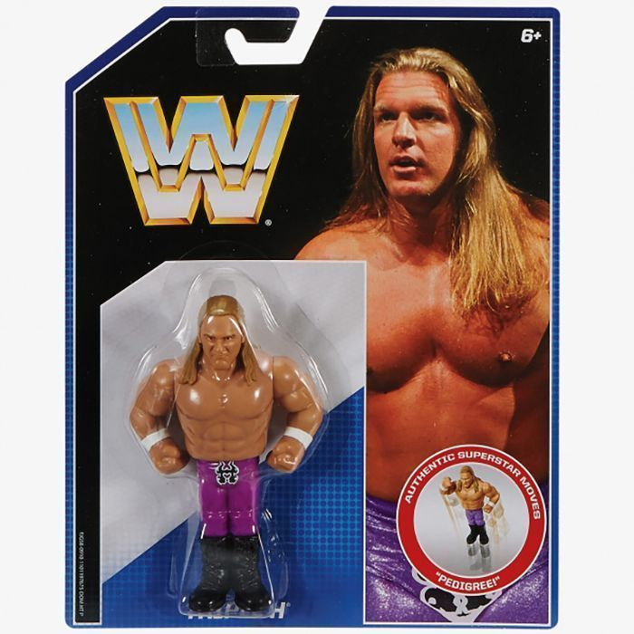Latest News Update Hhh: WWE Retro Figure Mattel Toy Wrestling Action
