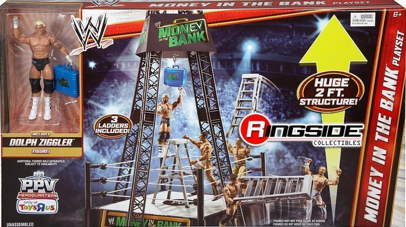 Wwe Toys Money In The Bank 29