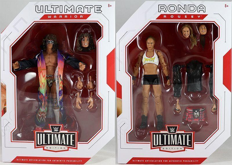 WWE MATTEL Elite Series Ultimate Edition Ronda Rousey Figura Wrestling UFC