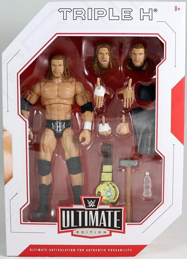 WWE Mattel Ultimate Warrior Elite Ultimate Edition Series #1 Figure